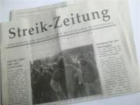 Streik-Zeitung 17. November